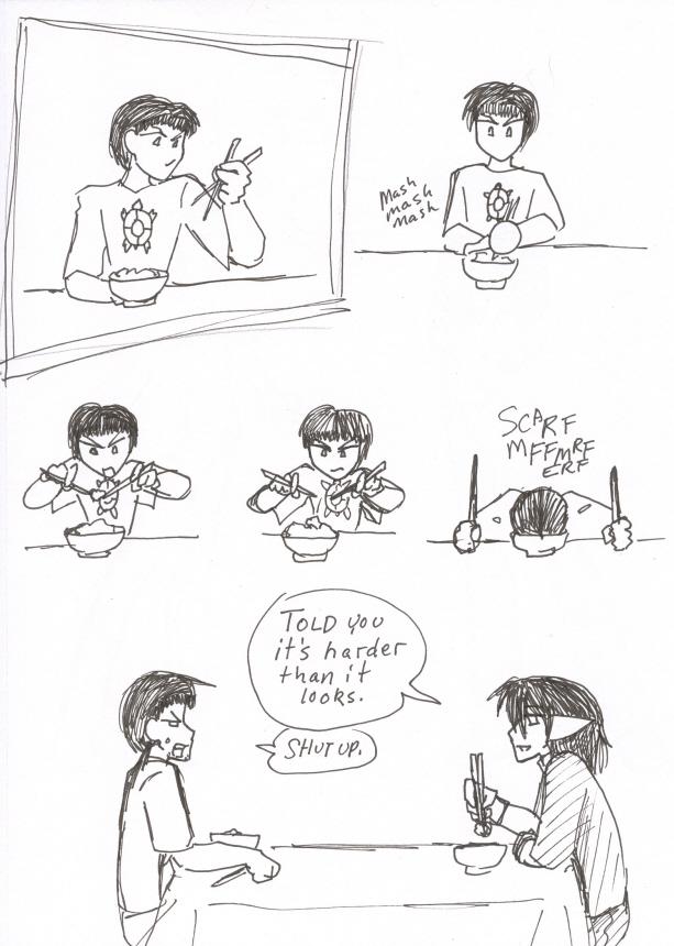 Chopsticks.... of DOOOM!!